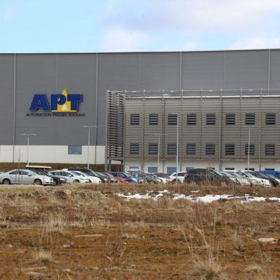 Företaget AP&T på Rönnåsens industriområde i Ulricehamn. Vi målade både in- och utvändigt.