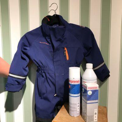 Imprenex - impregnering för grövretextilier så som tält och båtkapell. Samt till ytterkläder och ftitidsplagg.