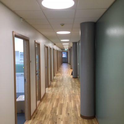 Korridor Fristad folktandvård